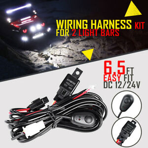 s l300 wiring harness kit 24v 40a 12v switch relay harness for led work  at cos-gaming.co