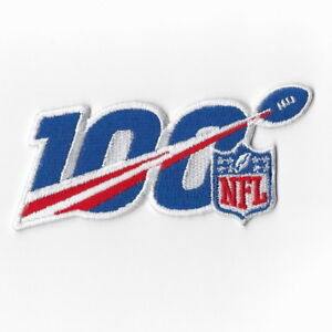 National-Football-League-100th-Iron-on-Patches-Embroidered-Patch-Badge-Sew-FN