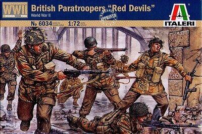 "Italeri - British Paratroopers ""red Devil"" (world War Ii) - 1:72 - 6034 Essere Romanzo Nel Design"