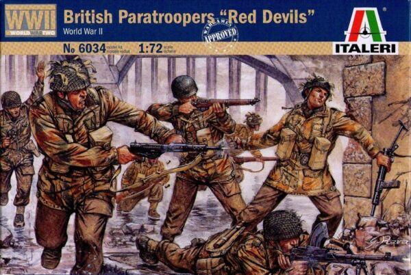 "Fashion Style Italeri 6034 - British Paratroopers ""red Devil"" (world War Ii) - 1:72"