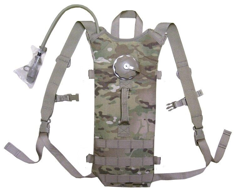 US ARMY BAE Specialty DEFENSE molle déshydratation Carrier Système Multicam Bladder