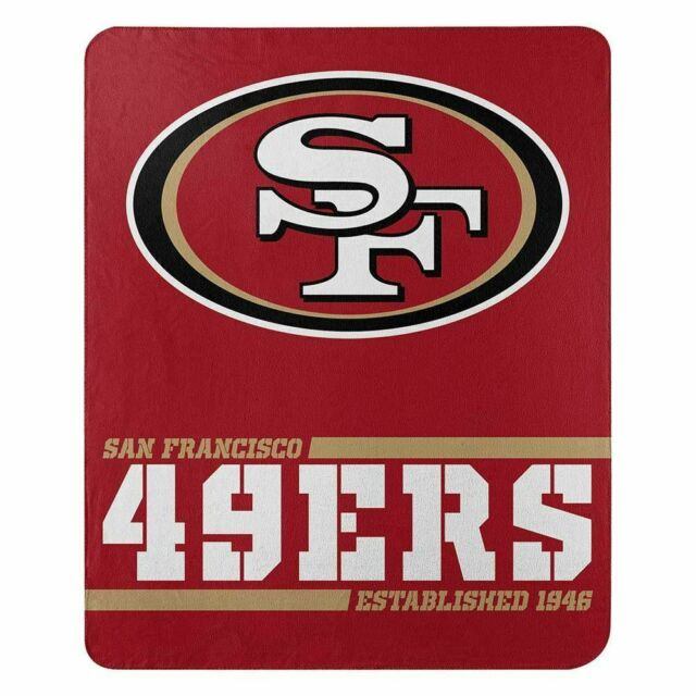 San Francisco 49ers Hooded Blanket Winter Fleece Throw Cloak Wearable Blankets