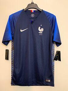 869101202032 NIKE BREATHE FRANCE FFF WORLD CUP SOCCER MATCH STADIUM JERSEY ...