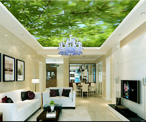 3D Trees 453 Ceiling WallPaper Murals Wall Print Decal Deco AJ WALLPAPER AU