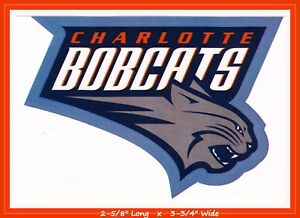 Charlotte Bobcats Basketball Nba Decal Sticker Team Logobuy 1 Get 1