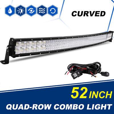 10D 29INCH 2928W Led Work Light Bar Quad Row Flood Spot Combo Offroad SUV 4WD 30