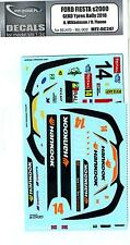MF Zone Decals 1/24 FORD FIESTA S2000 GEKO Ypres Rally 2010