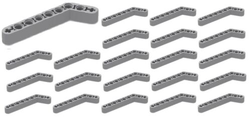 Thick #32271 ☀️25x NEW LEGO Light Bluish Gray Technic Liftarm 1 x 9 Bent 7-3