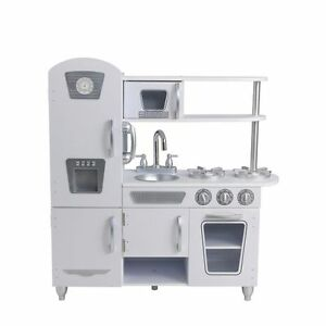 NEW-KidKraft-White-Vintage-Play-Kitchen