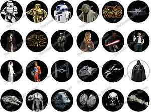 Awesome Star Wars Edible Rice Wafer Paper Birthday Cake Cupcake Toppers Ebay Personalised Birthday Cards Fashionlily Jamesorg