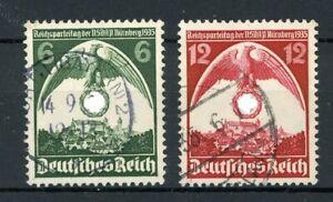 Deutsches Reich MiNr. 586 Y gestempelt geprüft Schlegel (MA1138