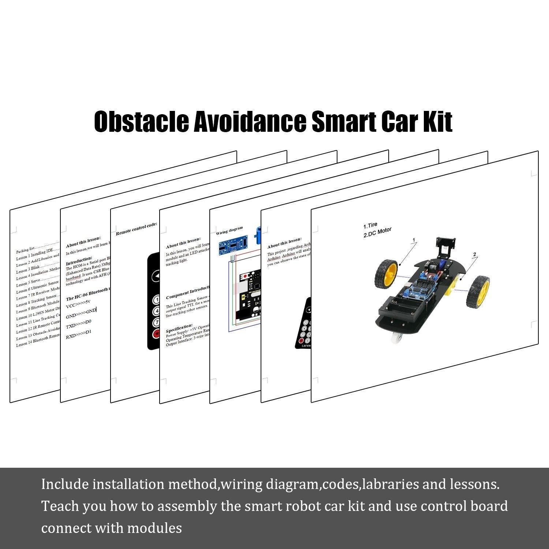 Pleasing Smart Robot Car 2Wd Chassis Kit Ultrasonic Module Remote Arduino Diy Wiring 101 Mecadwellnesstrialsorg