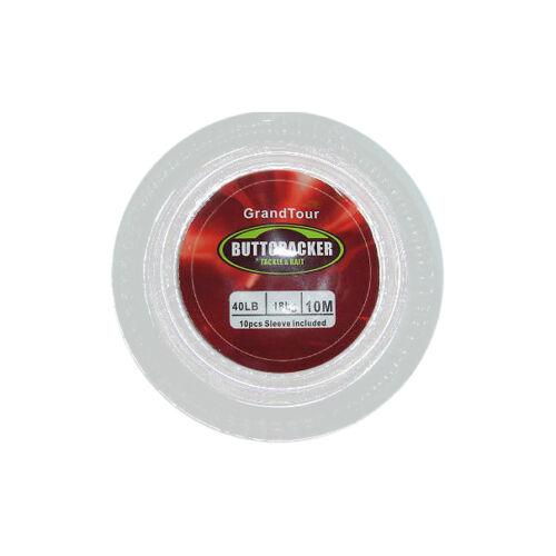 See Crimps Hecht Buttcracker 18,1 kg Nylonbeschichtet Rigg Draht
