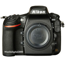 Nikon D810 Only Body Dual Slots FHD No Low Pass Filter 36 Languages Selectable