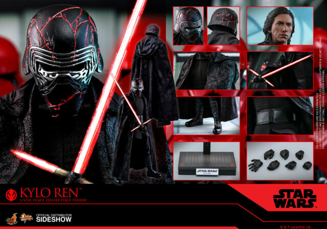 Hot Toys Star Wars The Rise of Skywalker MMS560 Kylo Ren 1/6 Sixth Scale Figure
