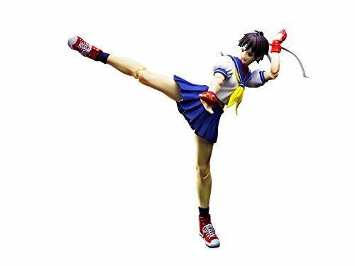 Bandai Sh S. H. Figuras Artísticas Sakura Kasugano Luchador IV Calle