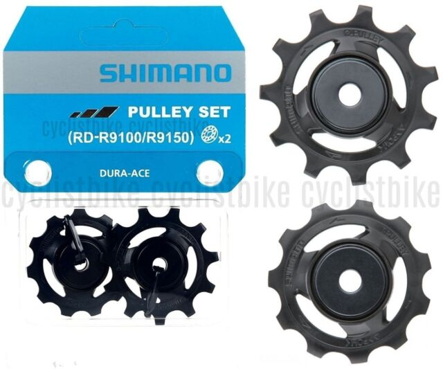 New Shimano Dura-Ace 11 Speed Rear derailleur 9100 /& 9150 Pulley Wheel Set