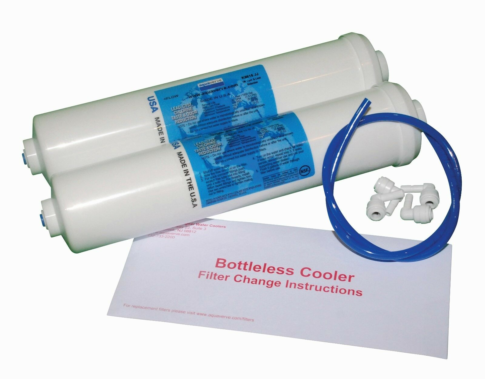 Replacement Filter Kit for Pacifik Bottleless Coolers