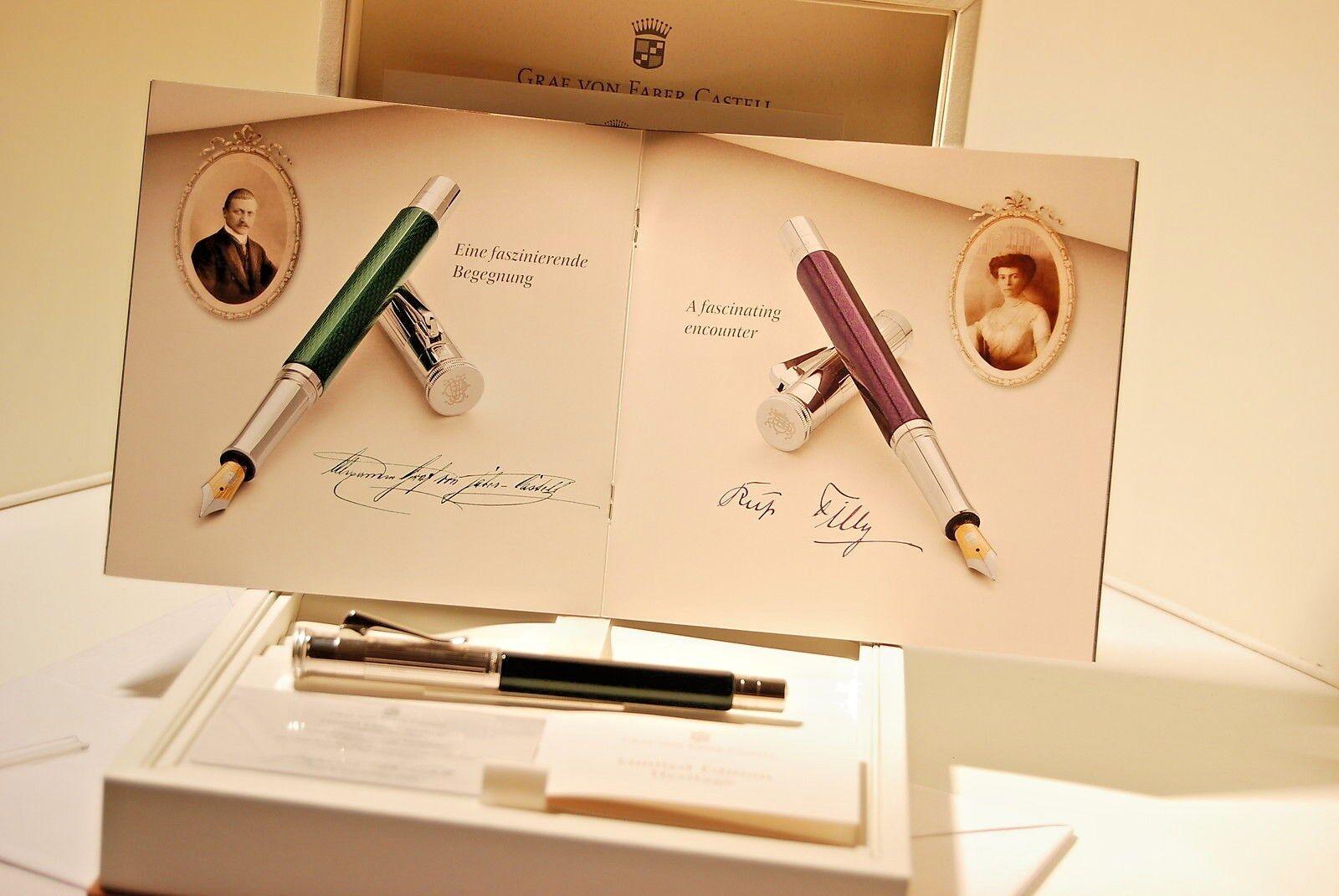 Graf von Faber Castell Limited Edition Heritage Alexander Fountain Pen | Sehr gelobt und vom Publikum der Verbraucher geschätzt
