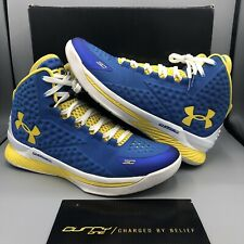 77d54c0fc8f item 4 Under Armour Curry 1 Home Royal Blue Taxi Yellow White Size 11  1258723-402 -Under Armour Curry 1 Home Royal Blue Taxi Yellow White Size 11  1258723- ...