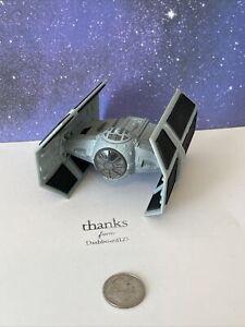 Micro Machines Star Wars Action Fleet [SHIPS] Darth Vader's Tie Fighter (small)