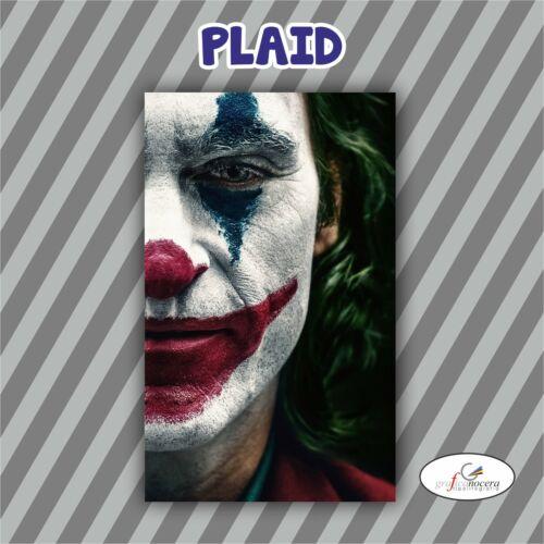 Plaid Fleece Joker Movie Arthur Fleck Gotham Clown Blanket Hot Gift