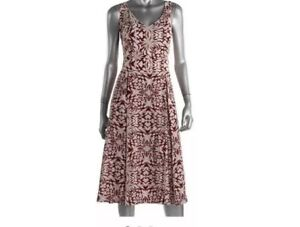 NWT-ANNE-KLEIN-Womens-Fit-and-Flare-Dress-size-6-Medium-139