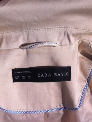 Uk Size £69 Basic Zara Beige Small 6 Ladies 00 Rrp Jacket Ex Classic n0wzSxwqCF