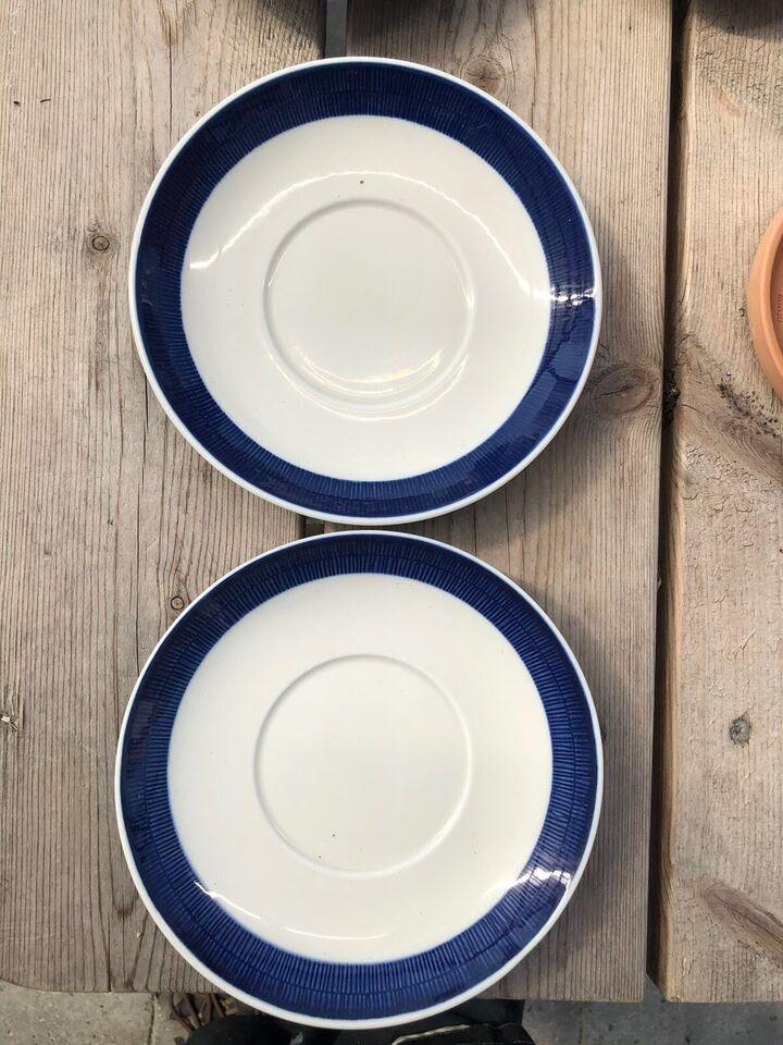 Porcelæn, 12 stk. 14 cm og 2 stk. 15 cm, Blå Koka - Rörstrand