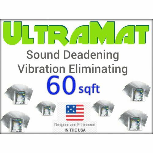 1936-1950 Cadillac 60 SqFt UltraMat Heat /& Sound Barrier 60 12 x 12 Tiles xl