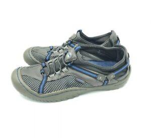J-41-TAHOE-Vegan-Jeep-Hiking-Womens-Grey-Blue-Ready-Slip-On-Shoes-Size-7M