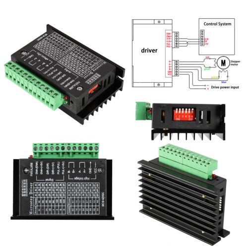 0,5-4A 40V DC CNC 1 Achse TB6600 2//4 Phase Schrittmotor Motor Treiber Kontroller