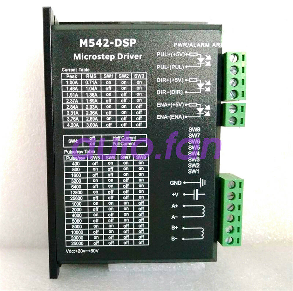 Brand new genuine M542-DSP stepper drive current 4.2A voltage 24-50VDC
