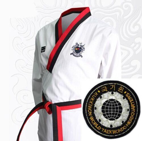 Mooto WTF Poomsae Poom Uniform Kukkiwon Korea Taekwondo Dobok Korean Tae Kwon Do