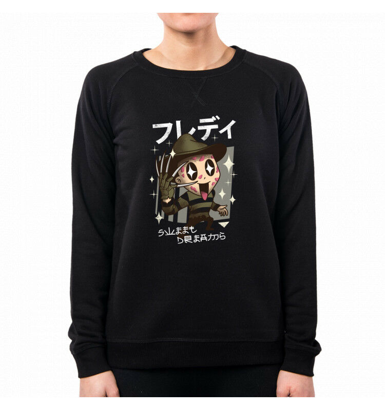 FELPA women KAWAII DREAMS NIGHTMARE HORROR MOVIES FREDDY VT0026A VT0026A VT0026A PACDESIGN 87843f