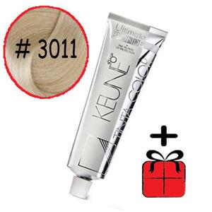Keune-Tinta-3011-new-3001-Hair-Color-Dye-Ultra-Ash-Blonde-shade-GIFT