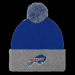 Buffalo-Bills-034-Bills-Mafia-Logo-034-POM-Ball-Knit-Hat-Cap-Winter-Ski-Beanie