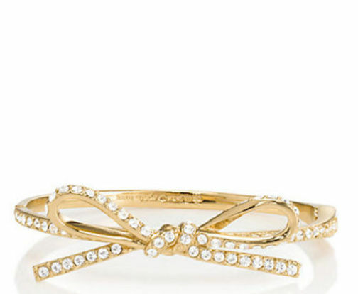 Kate Spade New York Bracelet Skinny Mini Pave Bow