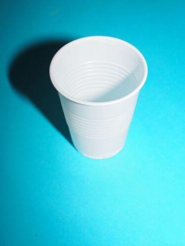 Trinkbecher Ausschankbecher Bierbecher Plastikbecher 0,3l 300ml weiß 100* 2500St