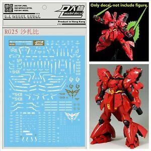 Pour-Bandai-RG-1-144-MSN-04-Sazabi-Gundam-Model-WaterSlide-Decal-Stickers-RG25