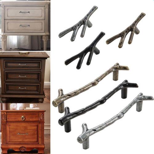 Twig Knobs Tree Branch Fashion Pulls Cabinet Cupboard Drawer Handles Vintage