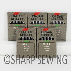 100 ORGAN 16X257PD #10 TITANIUM  SEWING MACHINE NEEDLES 16X231PD DBX1PD 16X95PD