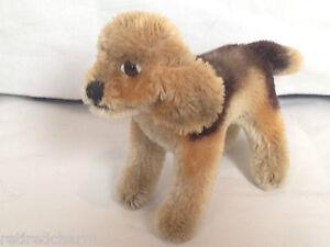 "❤️STEIFF BIGGIE BEAGLE Dog 1310,0 Miniature 4""Standing 1958-61 MOHAIR XCLT CND❤️"
