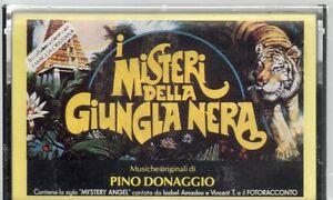 PINO-DONAGGIO-musicassetta-MC-MC7-K7-I-MISTERI-DELLA-JUNGLA-NERA-OST-sealed