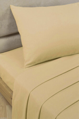 """180TC FITTED 9/""""//23CM DEEP FITTED 10/""""//26CM SHEETS SINGLE DOUBLE KING /& SUPER KING"""