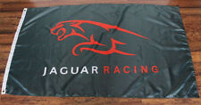 New Green Jaguar Racing Flag Formula One Team F1 Sign Banner Auto Car Garage