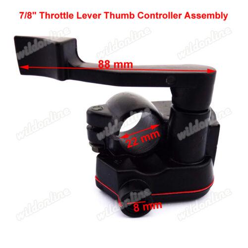 ATV Thumb Throttle Control Housing Cable For 50cc 70cc 90cc 110cc 125cc Quad