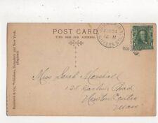 Miss Sarah Marshall Carlisle Road Newton Centre Mass. USA 1906  762a