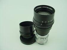 Kinoptik 75mm 1/2 Apochromat Paris C-Mount Vintage Lens - Clean & Rare