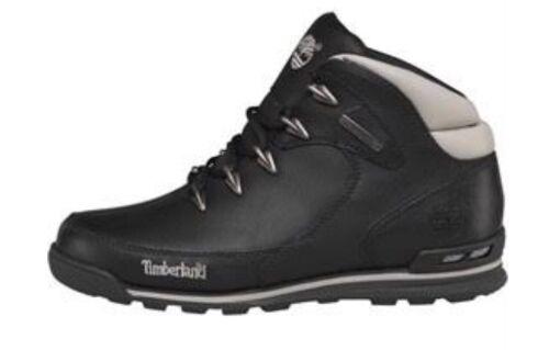 Negro cuero Reino 9 Hiker Tamaño botas Timberland de Unido Euro Hombre Rock Ow5R5U